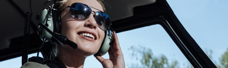 Headsets for pilots