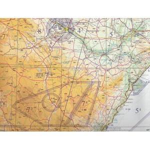 Spain 1:1.000.000 VFR chart