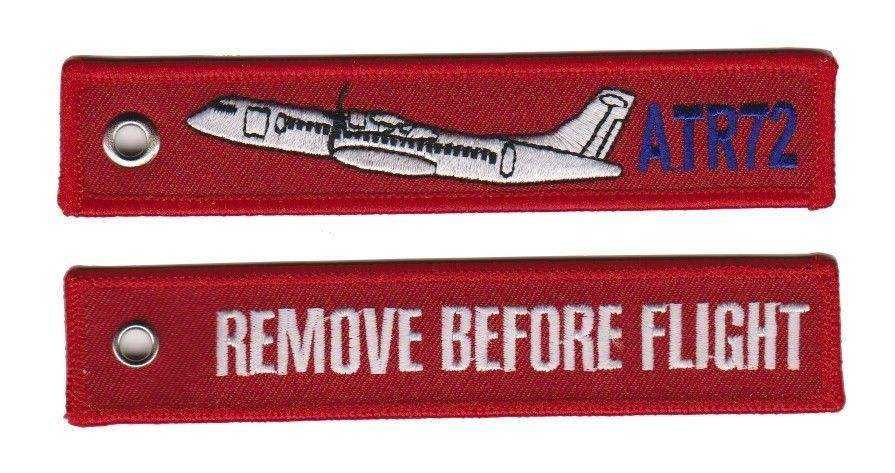 Key Chain Remove Before Flight ATR 72