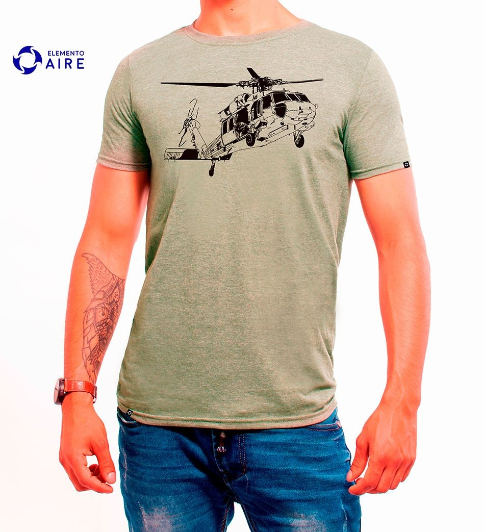 "Camiseta ""Approach Helicopter"""