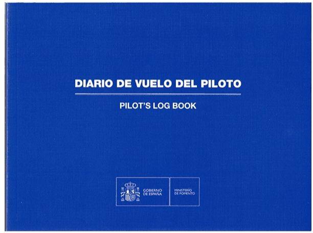 Spanish Civil Aviation Logbook