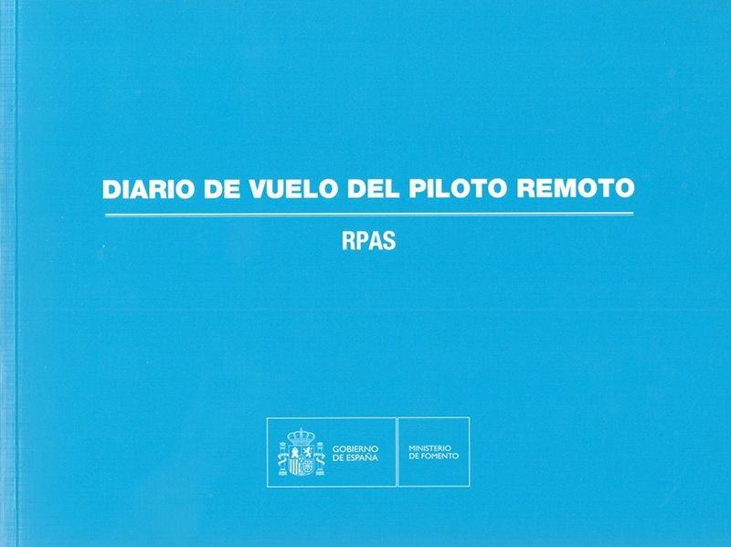 Spanish Civil Aviation RPAS Logbook