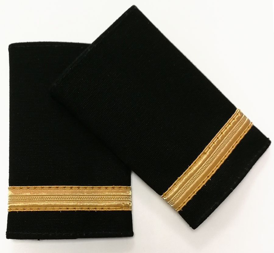Pilot Epaulettes - 1 gold bar