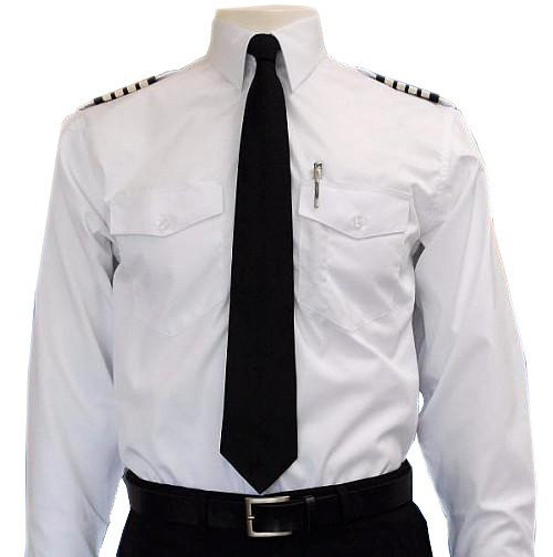 Long-Sleeve Pilot Shirt