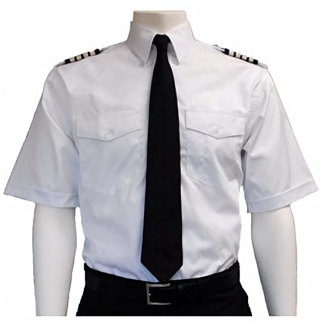 Short-Sleeve Pilot Shirt