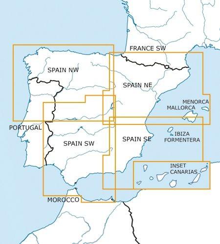 Carta VFR 1:500.000 España