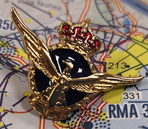 Commercial Pilot Spanish pin badge