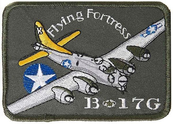 B-17 Flying Fortress patch