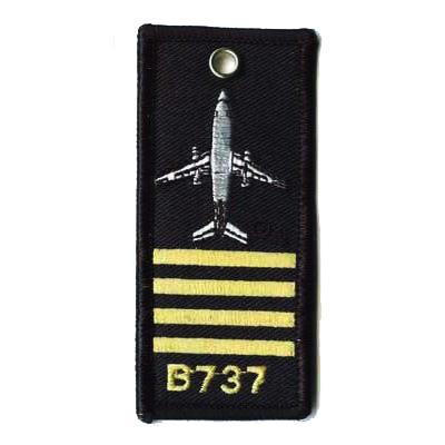 """""""Captain B-737"""" Keychain"""
