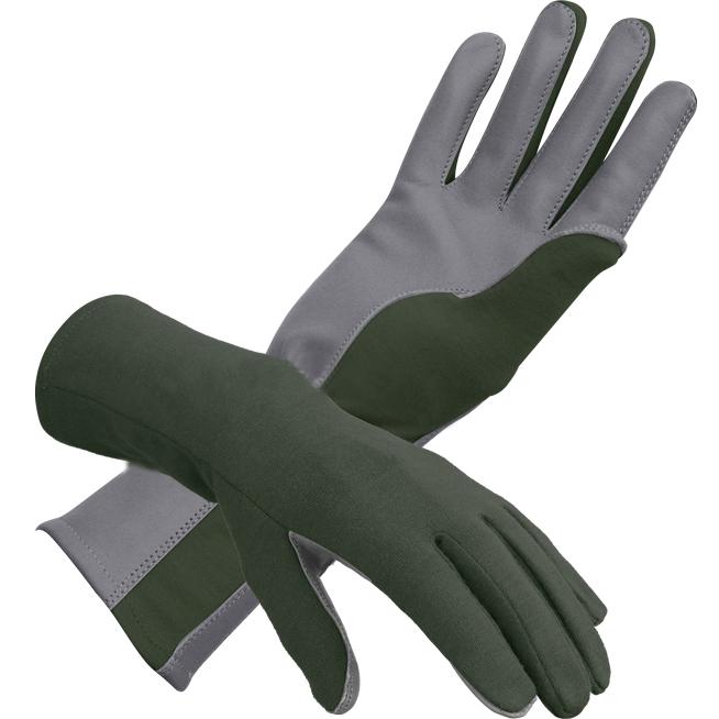 Nomex Flight Gloves Green