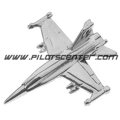 Pin F-18 Hornet Nickel